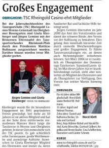 Die Rheinpfalz 05.12.2018