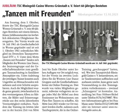 Nibelungen-Kurier 13.10.2021